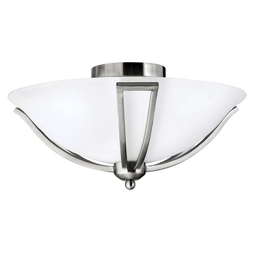 Bolla 4660 Semi Flush Ceiling Light by Hinkley Lighting | 4660BN