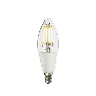 B11 Candelabra Base 4W 120V Clear Filament 2700K