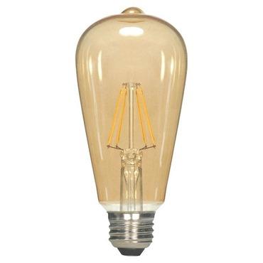 ST19 Filament Med Base 2.5W 120V 2300K 80CRI Amber