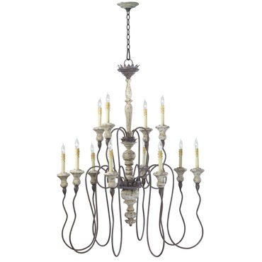 Provence Two Tier Chandelier