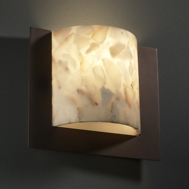 Framed Square 3 Sided Wall Sconce