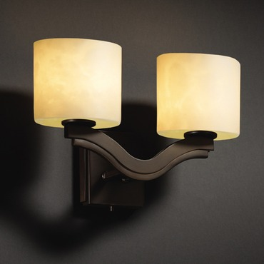 Clouds Bend 2 Light Wall Sconce