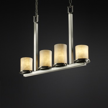 Dakota Clouds Linear Chandelier