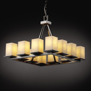 Montana 12 Light Square Chandelier