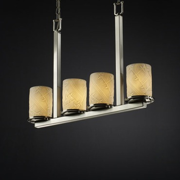 Dakota Bar Porcelain Chandelier