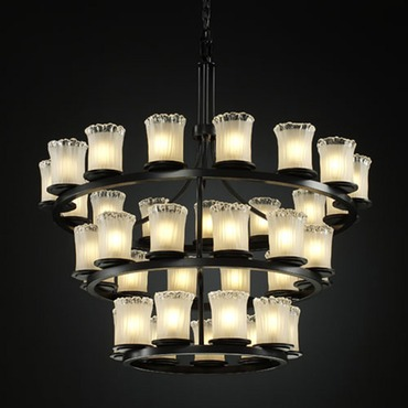 Dakota Inverted 3 Tier Chandelier