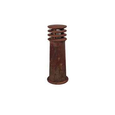 Rusty Bollard by Lightology Collection | lc-rus40