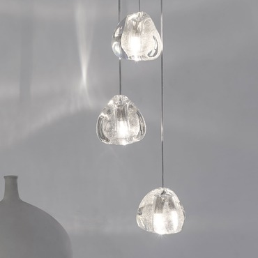 Mizu Round Multi Light Pendant