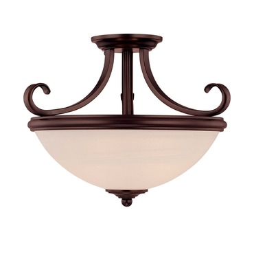 Willoughby Semi Flush Ceiling Light