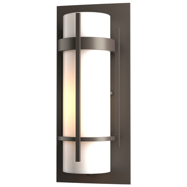 Banded Small Outdoor Wall Light by Hubbardton Forge | 305892-1006