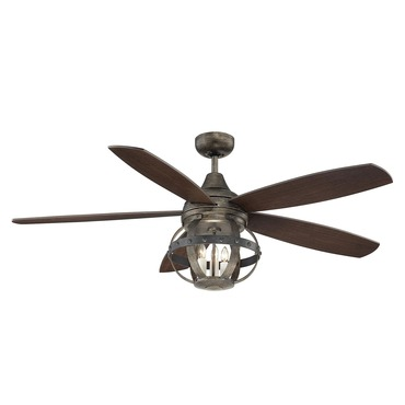 Alsace Ceiling Fan with Light