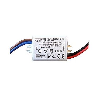 319-0006 350mA 1W LED Driver by Raise Lighting | 319-0006