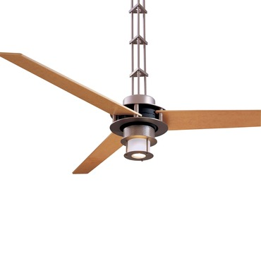 San Francisco Ceiling Fan with Light by Minka Aire | F529-L-BS/CH