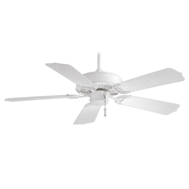 Sundance Ceiling Fan by Minka Aire | F572-WH