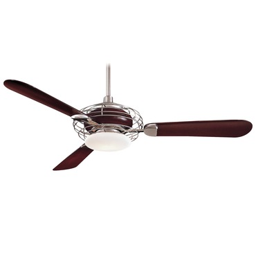 Acero Ceiling Fan by Minka Aire | F601-BS/MG