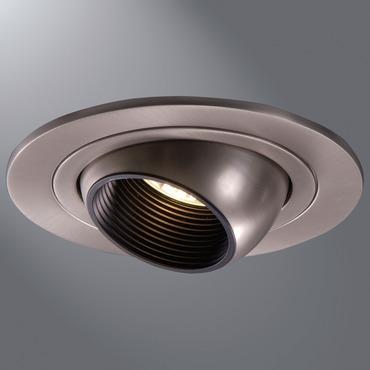 1498 4 Inch Adjustable Eyeball With Baffle Trim by Halo   1498SN