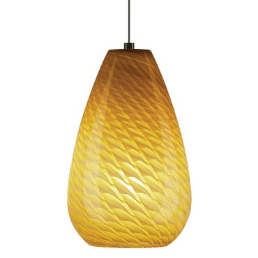 Monopoint Honey Pendant by Tiella | 800MPHONAZ