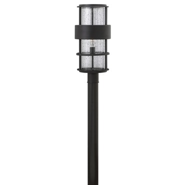 Saturn Outdoor Post Mount Satin Black
