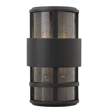 Saturn Outdoor Pocket Wall Light Satin Black