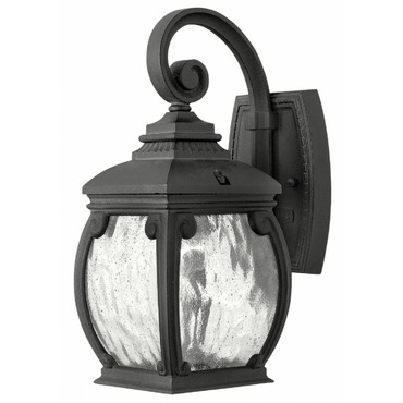 Forum Outdoor Open Bottom Wall Light