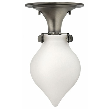 Congress LED Teardrop Semi Flush Ceiling Light