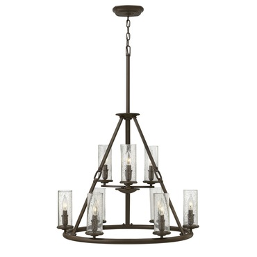 Dakota Two Tier Chandelier