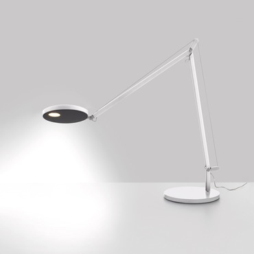 Demetra Desk Lamp. Anthracite Grey Black White