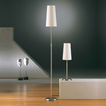 Illuminator 6354 Narrow Shade Adjustable Floor Lamp by Holtkoetter | 6354-SN-SWNR