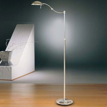 6450 Swing Arm Floor Lamp with Dimming System
