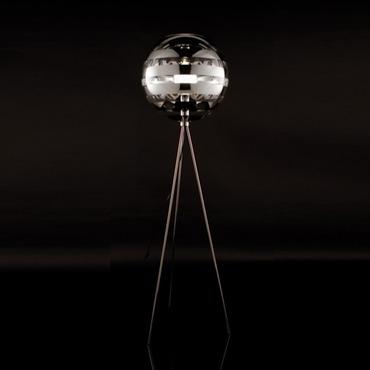Zebra Tripod Floor Lamp