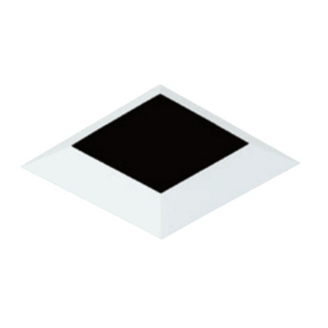 4 Inch Square Flangeless Bevel Trim by Element by Tech Lighting | E4SLB-OW