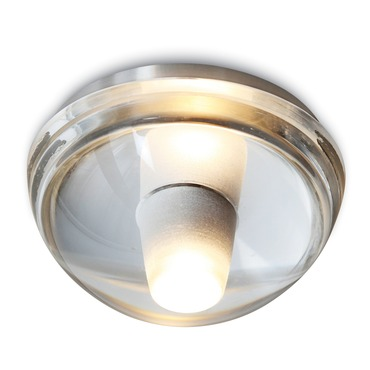 Gracie Hemisphere Ceiling Flush / Wall Light