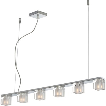 Blocs 6 Light Suspension by Et2 | E22034-18