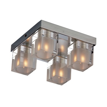 Blocs 4 Light Ceiling Mount