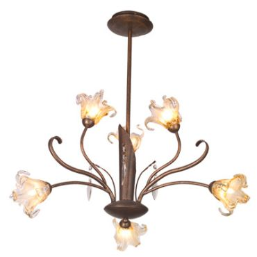 Bloom 6 Light Suspension by Et2 | E22063-26