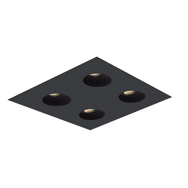 2X2 Round on Square Flanged Trim  by Element by Tech Lighting | EMT22RFF-B