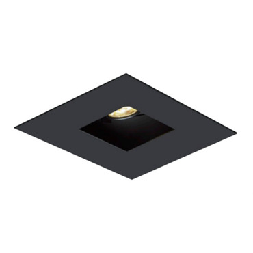 1X1 Square on Square Flanged Trim  by Element by Tech Lighting | EMT11SFF-B