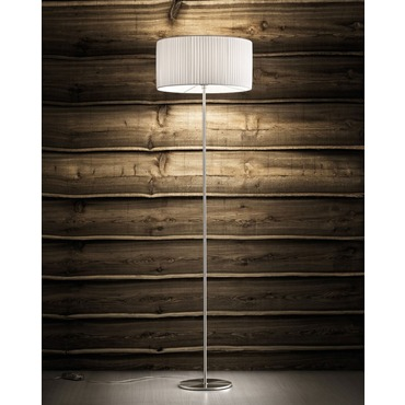 Fog Plisse Floor Lamp