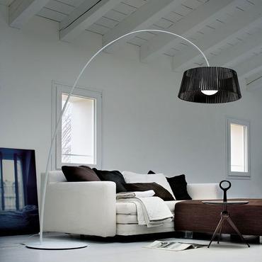 Ribbon Arch Floor Lamp