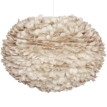 Eos Light Brown Hardwired Pendant