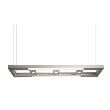 Lyra Halogen Linear Suspension by Edge Lighting | LYRA-60-SA