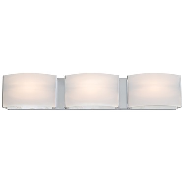 Vanguard Bathroom Opal Vanity Light