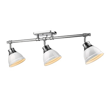 Duncan 3 Light Semi Flush Ceiling Light