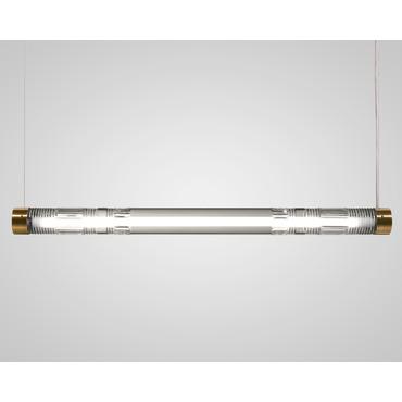 Crystal Tube Linear Pendant