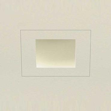 Aurora Halogen Square Edge 2 Inch Flangeless Trim/Housing by PureEdge Lighting | AH1-ASE-SE2W