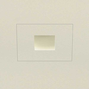 Aurora Halogen Square Edge 1.3 Inch Flangeless Trim/Housing