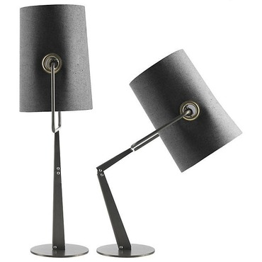 Fork Adjustable Table Lamp with Dimmer by Diesel Lighting | LI0412 25 U