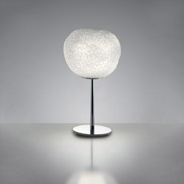 Meteorite Table Lamp with Stem
