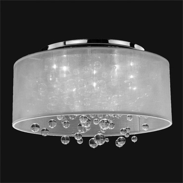 Silhouette Ceiling Light Fixture