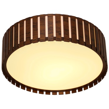 Slatted Ceiling Light Fixture